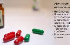 Антибіотики при кишкової інфекції у дорослих і дітей