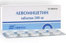 Левоміцетин при циститі: інструкція, як приймати