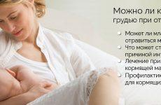 Чи можна годувати грудьми при отруєнні