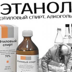Отруєння етиловим спиртом: симптоми, невідкладна допомога