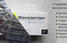 Отруєння феназепамом: перша допомога при отруєнні