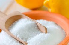 Отруєння лимонною кислотою у дітей і дорослих: що робити