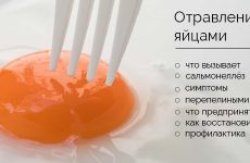 Отруєння яйцями: симптоми і лікування