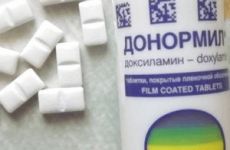 Передозування Донормилом: скільки таблеток для летального результату