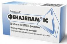 Передозування феназепамом: перша допомога, лікування, ознаки і наслідки