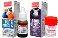 Правила застосування крапель і таблеток «Стоп-стрес» для кішок