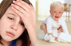 Блювота жовчю у дитини, хвороби, причини підвищеної температури