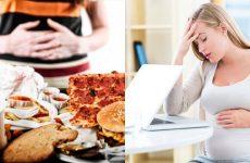 Нудота з блюванням у третьому триместрі вагітності
