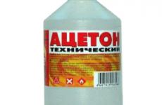 Отруєння ацетоном: симптоми, перша допомога і лікування