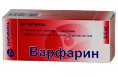 Передозування Варфарином: симптоми і ознаки, перша допомога і лікування