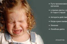 Блювота у дитини: як зупинити, що давати, що робити вдома, що можна їсти