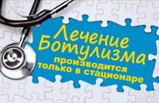 Ботулізм – лікування: перша допомога і весь комплекс заходів