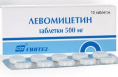 Левоміцетин при отруєнні: як приймати, дозування для дітей і дорослих