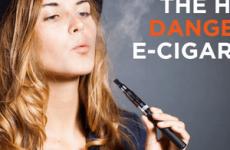 Шкідливі електронні сигарети з рідиною для здоров'я