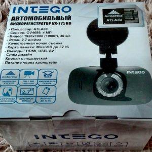 Відеореєстратор Intego VX-775 HD, ціни і технічні характеристики