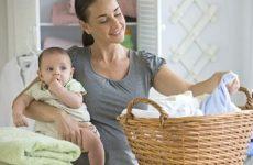 Чим і як прати дитячі речі для новонародженого?
