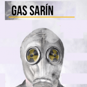 Газ зарин і його дія на людину: характеристика та отруєння