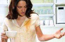 Як відіпрати плями від чаю з одягу
