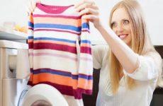 Як прати светр шерстяний і кашеміровий в машинці