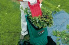 Кращі подрібнювачі гілок, топ-10 рейтинг садових подрібнювачів