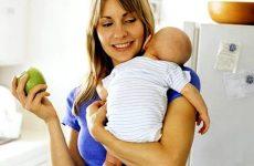 Меню годуючої мами: обсяг їжі, продукти, калорії