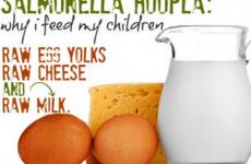 Харчування при сальмонельозі у дорослих і дітей: меню і рецепти