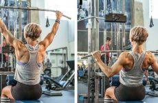 Вправи для схуднення спини: тренування в домашніх умовах та в залі для жінок
