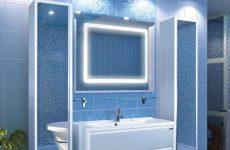 Варто віддати перевагу шафі-колоні в ванну кімнату