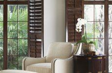 Розкладні віконниці на вікна в сучасному стилі