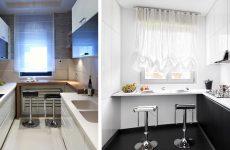 Як обставити інтер'єр дуже маленької кухні