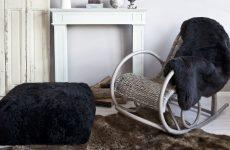 Крісло-гойдалка як центральний елемент інтер'єру