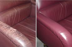 5 порад по дрібному ремонту шкіряних меблів своїми руками