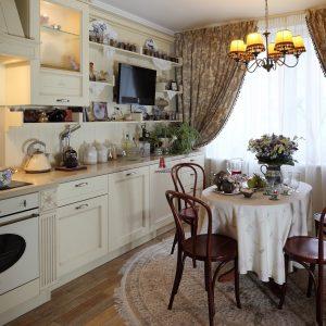 Інтер'єр кухні в стилі прованс
