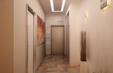 Який зробити стеля в коридорі