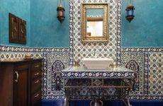 Інтер'єр ванної в арабському стилі
