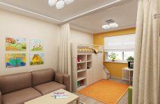 Як виділити дитячий куточок у загальній кімнаті