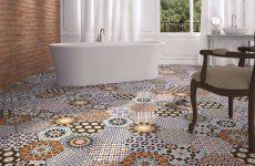 Шестикутна плитка та мозаїка в інтер'єрі