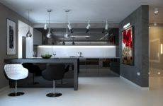 Обстановка квартири в стилі мінімалізм
