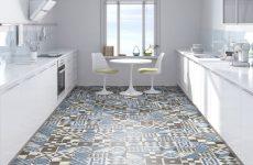 Плитка для фартуха і підлоги на кухні