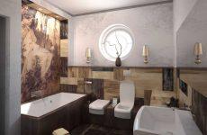 5 відмінностей дизайну ванної кімнати в стилі арт нуво