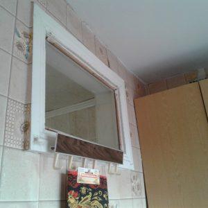 Як красиво оформити вікно між ванною і кухнею