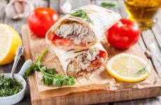 Рецепт смачною скумбрії в лаваші з Стамбула