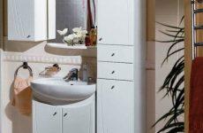 Які шафки вибрати для маленької ванної кімнати