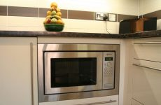 Де краще розмістити на кухні мікрохвильовку