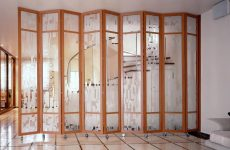 Розсувні перегородки для зонування простору в кімнаті
