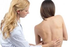 Кіфосколіоз хребта в грудному відділі: причини і симптоми захворювання, його ступеня і можливості лікування мануальною терапією
