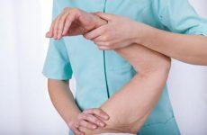 Контрактура лівого і правого плечового суглоба