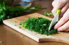 Правила використання в кулінарії зелені: свіжої, сушеної та замороженої