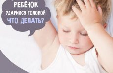 Дитина вдарилася головою: на що звернути увагу
