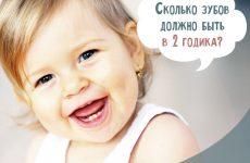 Скільки зубів у дитини в 2 роки: таблиця по місяцях